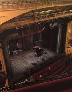 Walter kerr theatre section balcony left row  seat also rh aviewfrommyseat