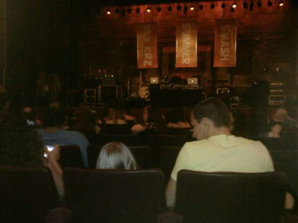 F M Kirby Center Section Orchestra Row H Seat 7