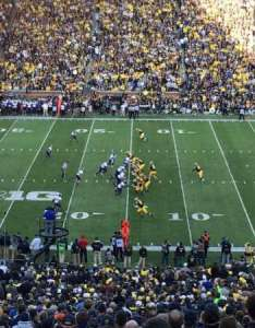 Michigan stadium section row seat also home of wolverines rh aviewfrommyseat