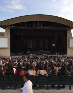 Irvine meadows amphitheatre section row  seat also rh aviewfrommyseat