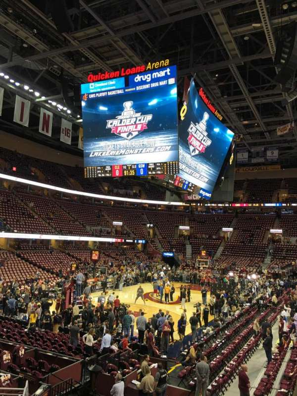 Quickenloans Arena Seating Chart : quickenloans, arena, seating, chart, Rocket, Mortgage, FieldHouse,, Section, Cleveland, Cavaliers,, Monsters,, Gladiators