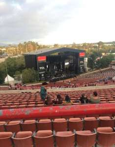 Irvine meadows amphitheatre section lawn row ga seat also rh aviewfrommyseat