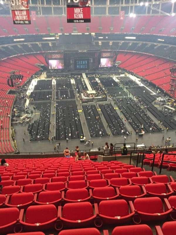 Georgia Dome Seating Map : georgia, seating, Concert, Photos, Georgia