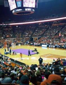 Frank erwin center section row seat also home of texas longhorns rh aviewfrommyseat