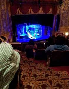 Warner theatre washington   section midbal row ff also rh aviewfrommyseat