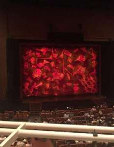 Eccles theater section tl row  seat also rh aviewfrommyseat
