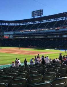 Guaranteed rate field section row seat also home of chicago white sox rh aviewfrommyseat