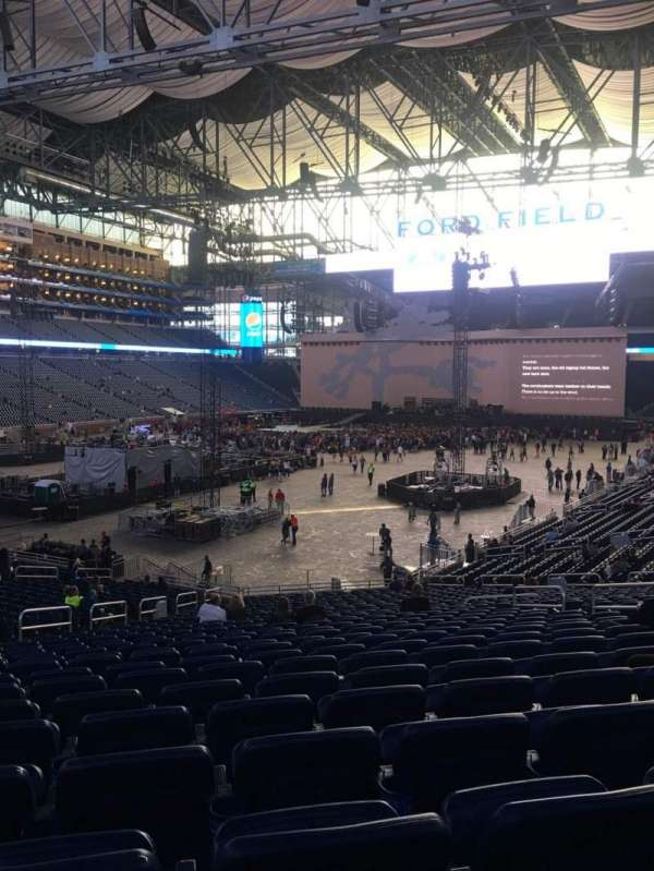 Ford Field Concert Seating Chart : field, concert, seating, chart, Concert, Photos, Field