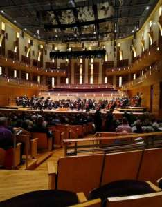 The music center at strathmore section orchestra tier right row cc also baltimore symphony concert  tour photos rh aviewfrommyseat