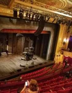 Walter kerr theatre section left mezzanine row  seat also rh aviewfrommyseat