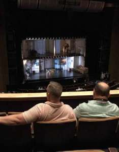 Ahmanson theatre section mezzanine row  seat also rh aviewfrommyseat