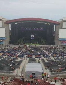 Jones beach theater section row  seat also rh aviewfrommyseat