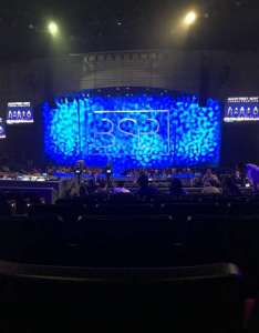 Zappos theater section  row seat and also rh aviewfrommyseat