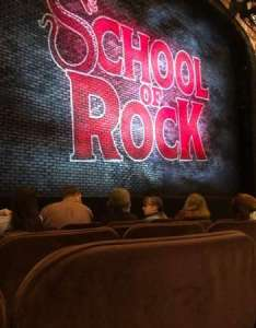 Winter garden theatre section orchestra row  seat also rh aviewfrommyseat