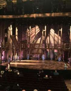 Richard rodgers theatre section orch row  seat also rh aviewfrommyseat