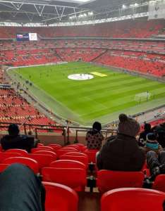Wembley stadium also home of england national football team rh aviewfrommyseat