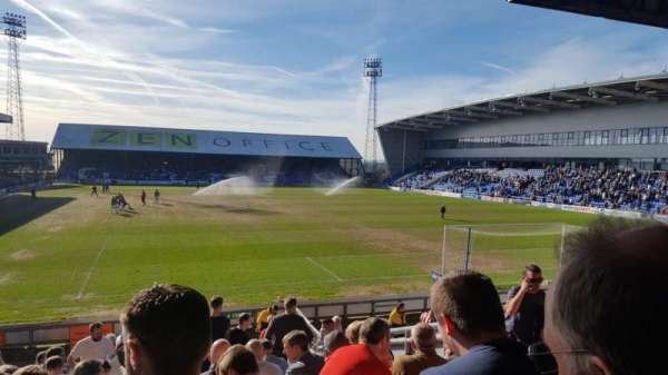 Photos of the Oldham Athletic at Boundary Park