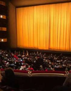 David  koch theater section st ring row  seat also rh aviewfrommyseat