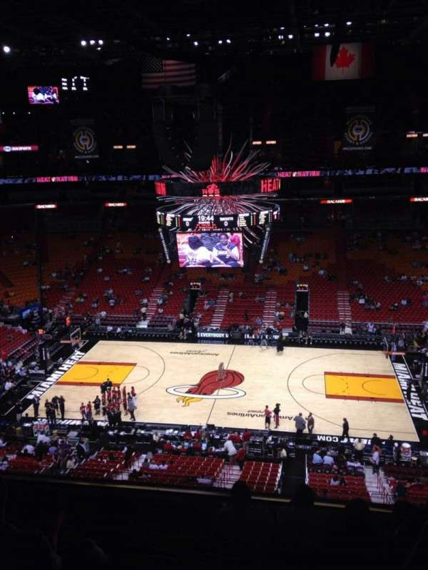 American Airlines Arena Seating Chart : american, airlines, arena, seating, chart, Views, Eamiami
