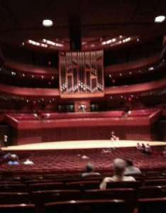 Verizon hall at the kimmel center section orch row  seat also rh aviewfrommyseat