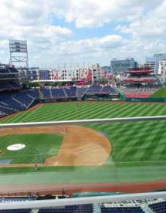 Nationals park washington vs philadelphia phillies also section home of rh aviewfrommyseat