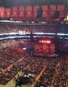 Wells fargo center section row seat also home of rh aviewfrommyseat