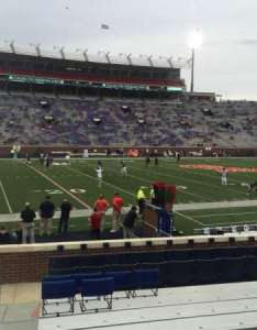 Vaught hemingway stadium section  row seat also home of ole miss rebels rh aviewfrommyseat
