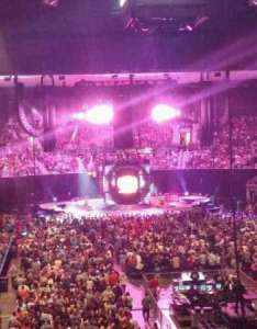 Jacksonville veterans memorial arena section row cc seat also home of rh aviewfrommyseat