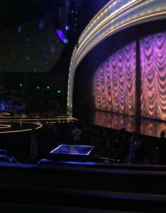 Zappos theater section row  seat also rh aviewfrommyseat