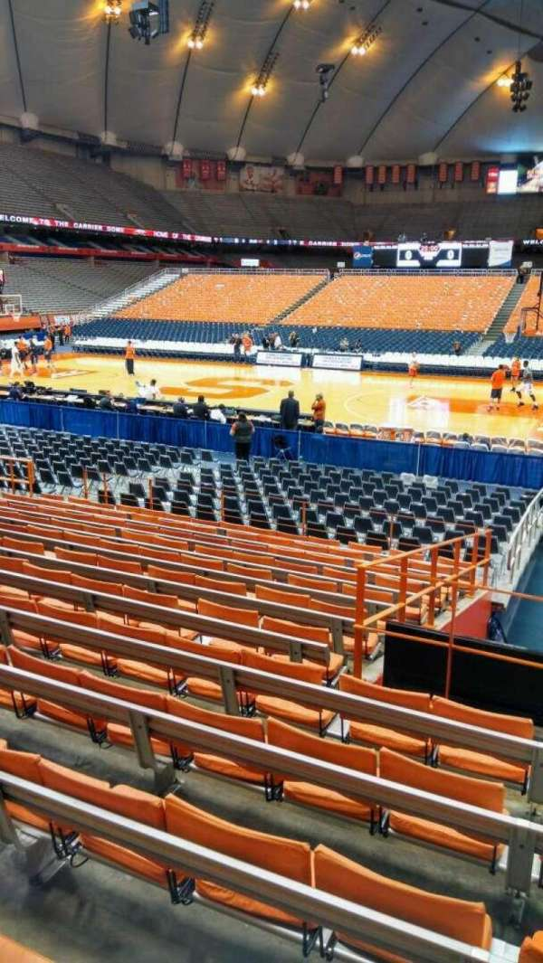 Carrier Dome Basketball Seating Chart : carrier, basketball, seating, chart, Carrier, Dome,, Section, Syracuse, Orange