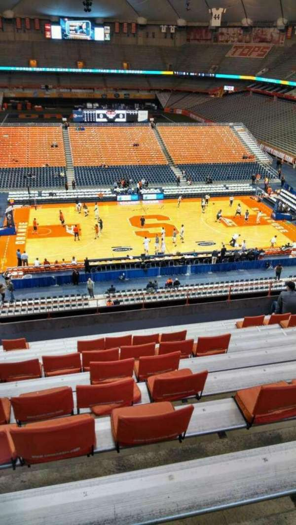 Syracuse Basketball Seating Chart : syracuse, basketball, seating, chart, Carrier, Dome,, Section, Syracuse, Orange