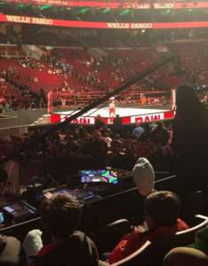 Wells fargo center section row also wwe photos at rh aviewfrommyseat