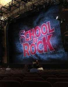 Winter garden theatre section orchestra right row  seat also rh aviewfrommyseat