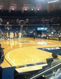 Joyce center section also home of notre dame fighting irish rh aviewfrommyseat