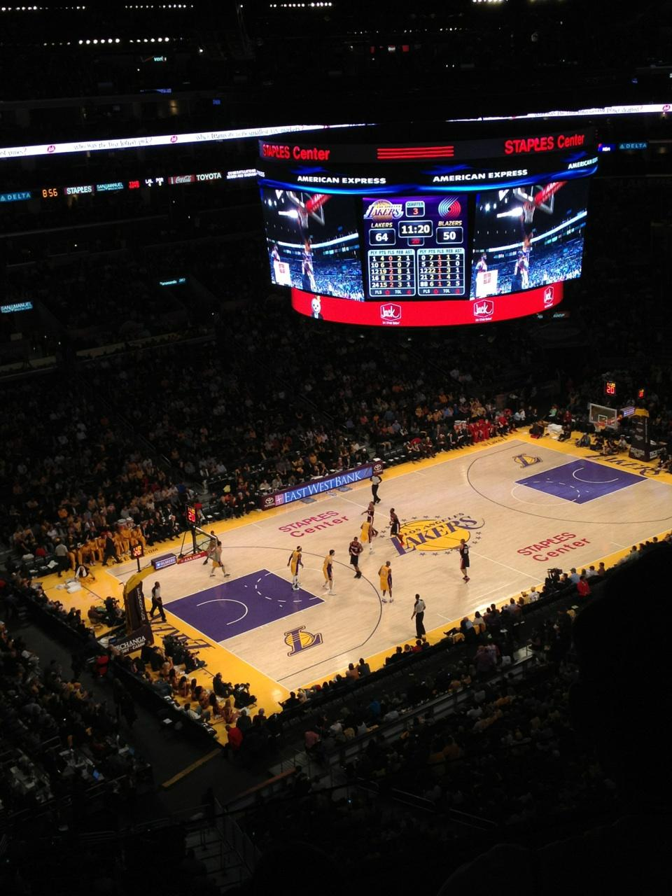 Los Seating Angeles Clippers