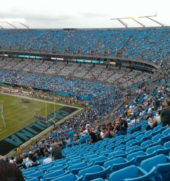 bank of america stadium section 506 row 22 seat 15 carolina panthers vs chicago bears shared by pyrosnine [ 2592 x 1944 Pixel ]