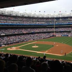 Delta Children Chair Cedar Rocking Yankee Stadium Section 214a - New York Yankees Rateyourseats.com