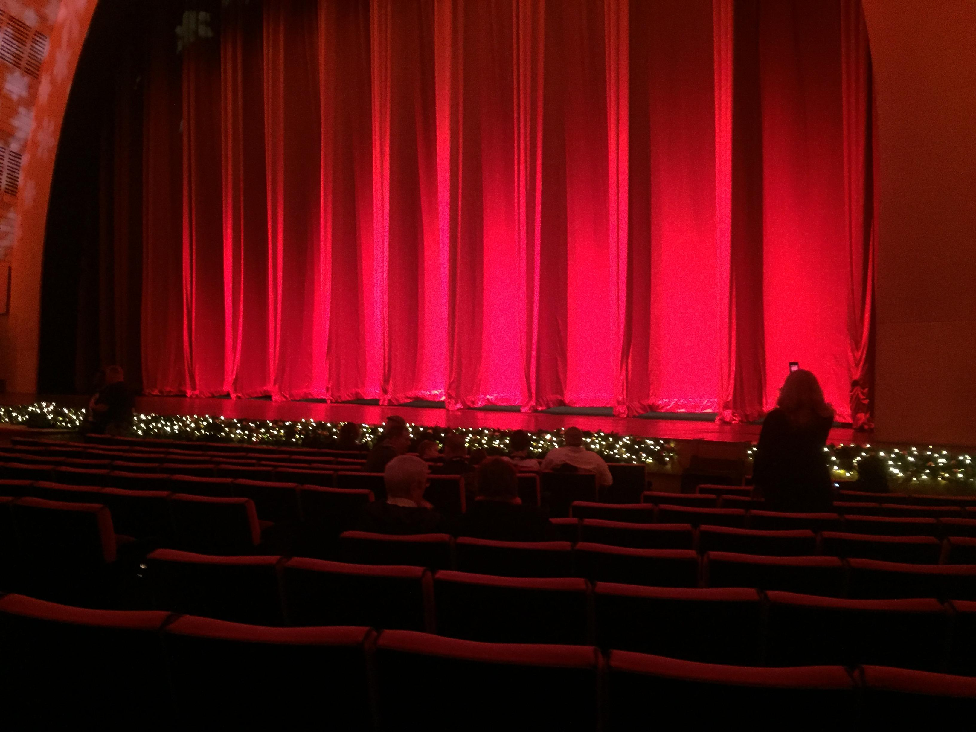 Radio City Music Hall Section Orchestra 2 Row PP Shared