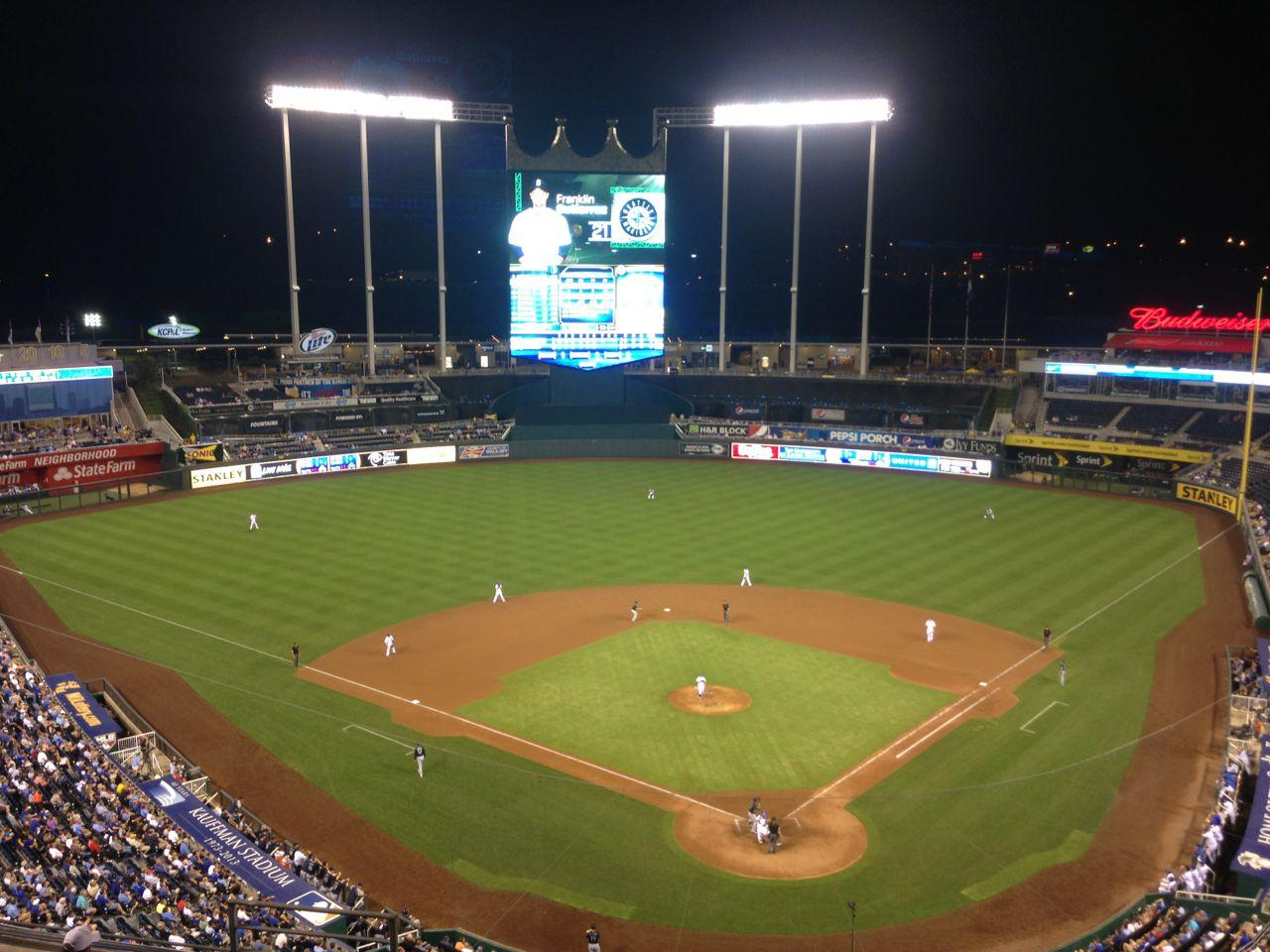Kauffman Stadium Section 419  RateYourSeatscom