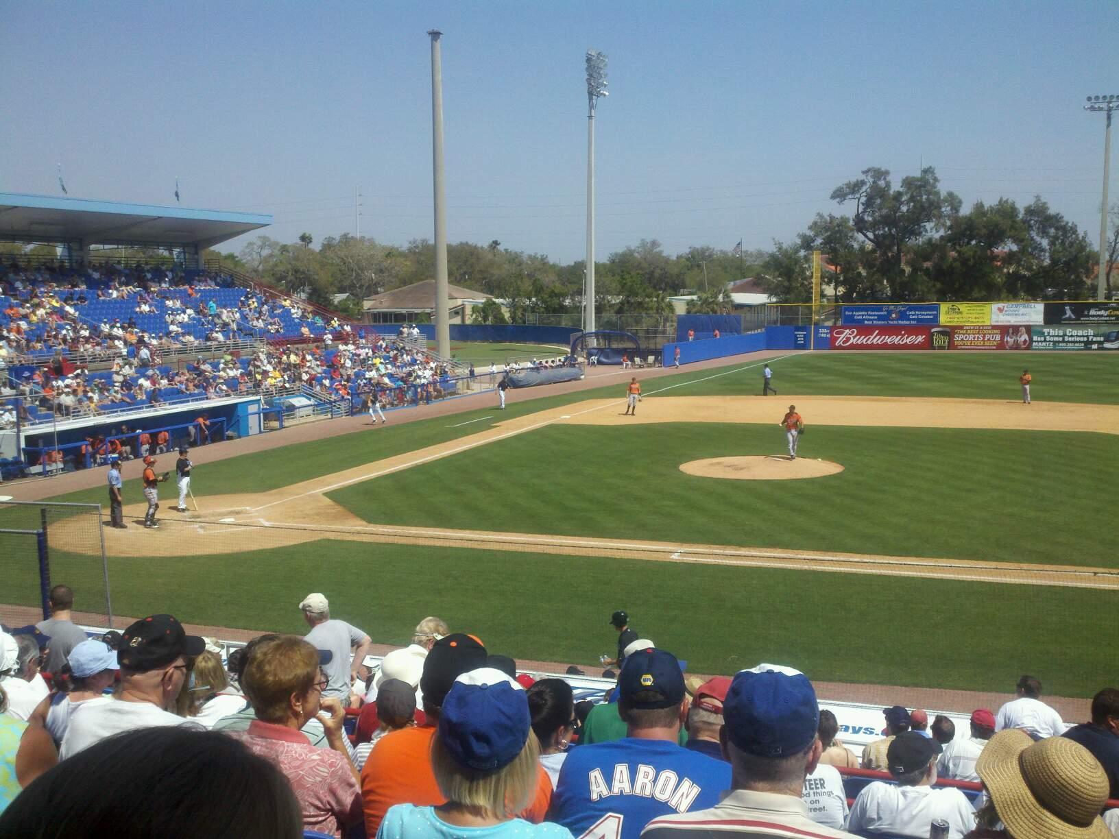 Florida Auto Exchange Stadium section 203 row 9 seat 4