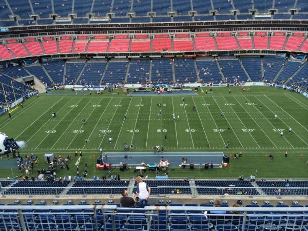 Titans Seating Chart Seat View Year Of Clean Water