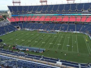 Nissan Stadium Section 332  Tennessee Titans