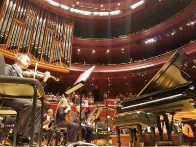 Verizon Hall At The Kimmel Center Section Orchestra Row B Seat