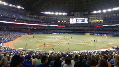 Rogers Centre Section 120 Home Of Toronto Blue Jays