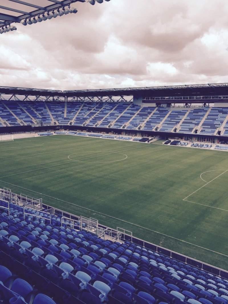 Avaya Stadium Interactive Soccer Seating Chart