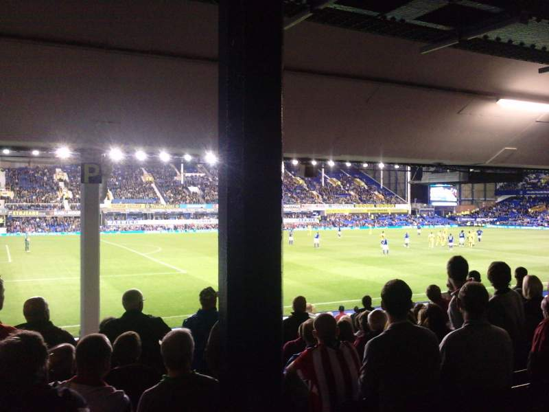 Sheffield United Iphone Wallpaper Goodison Park Section Lv1 Row N Seat 0049 Everton Vs