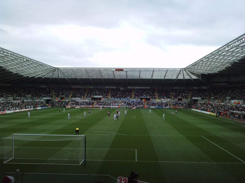 Sheffield United Iphone Wallpaper Liberty Stadium Section North Stand Upper Home Of
