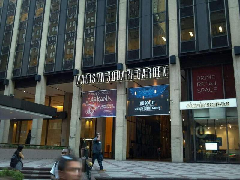 New York Rangers Wallpaper Iphone 6 Madison Square Garden Section Main Entrance Home Of New