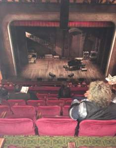 Seating view for walter kerr theatre section mezz row  seat also springsteen on rh aviewfrommyseat