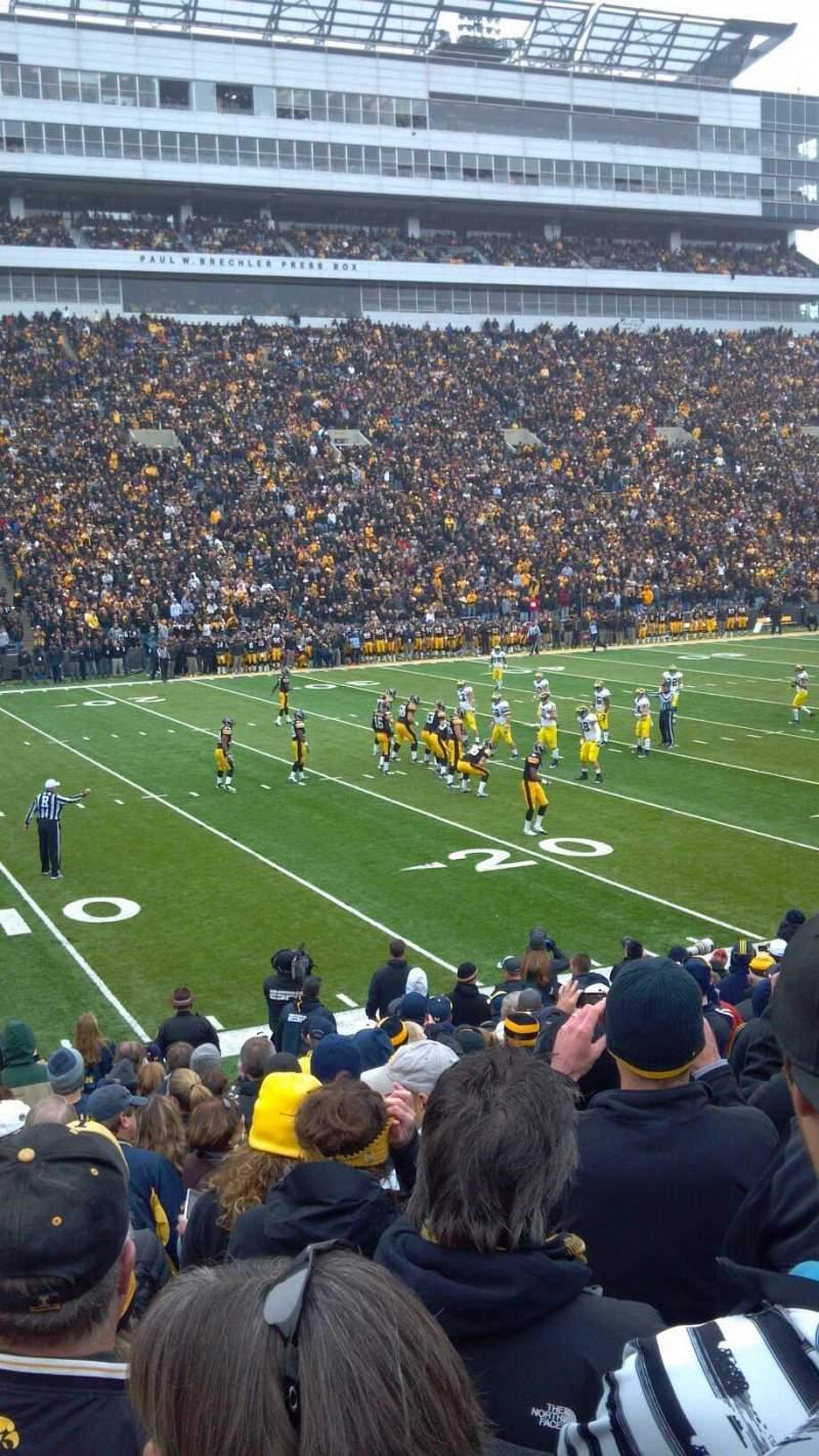 Photos at Kinnick Stadium.